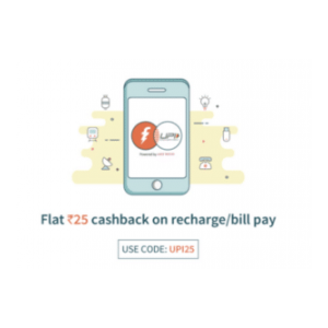 OfferTag: 100% cashback on recharge on Recharge/Bill