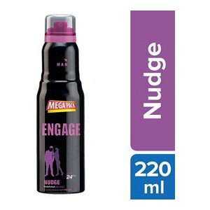 Engage Nudge Deodorant for Men, 220ml