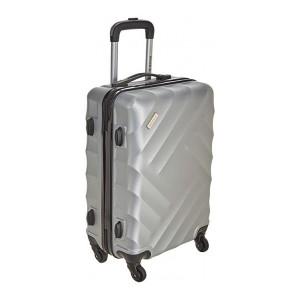KILLER ABS 58 cms Sliver Hardsided Cabin Luggage (SKYDA-Lightning STNDRD SLVR)