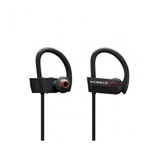 Hammer Zest-H Wireless Sports Earphones (Black)