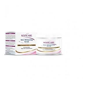 Kozicare Skin Whitening Scrub Deep Cleansing & Exfoliating Formula Enriched With Kojic Acid & Glutathione 100 gm