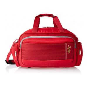 Skybags Cardiff Polyester 55 Cms Red Travel Duffle (DFCAR55ERED)  - Extra 10% Off Coupon