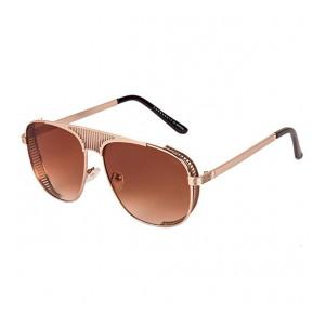 Farenheit Brown Retro Men's and Women's Sunglasses