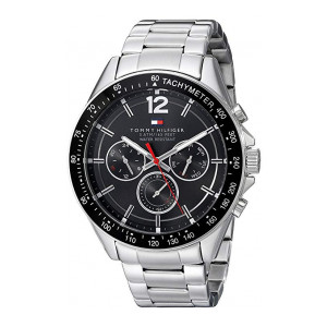 Tommy Hilfiger Analogue Black Dial Men'S Watch- 1791104