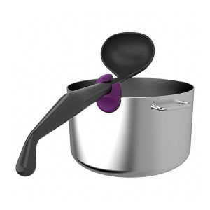 Bewater Pot Clipper Holds Your Cooking Utensil - Purple Color (Pw112Bw)