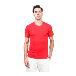 Nivia - - Step Out & Play 2234S4 Polyester Hydra 2 Fitness T Shirt-Men's, S (Red)