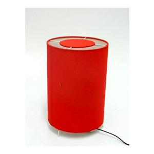 Circular Split RED Table LAMP