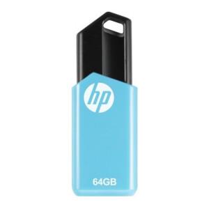 HP v150W PENDRIVE 64 GB Pen Drive(Blue, Black)