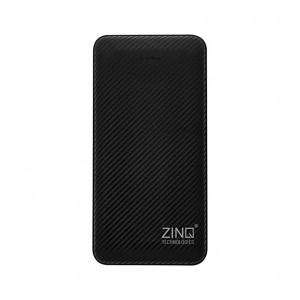 Zinq ZQ10KPC 10000mAH Lithium Polymer Power Bank with Dual Input (Black)