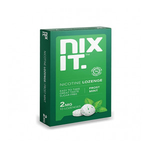 Nixit Nicotine Lozenge 2mg, Frost Mint Flavored Lozenge to Quit Smoking, Sugar Free, Pack of 3