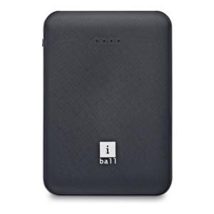 iBall 5000 mAh Power Bank (5 W)(Black, Lithium Polymer)