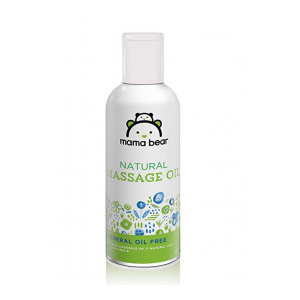 Amazon Brand - Mama Bear Natural Baby Massage Oil - 200 ml (Apply coupon)