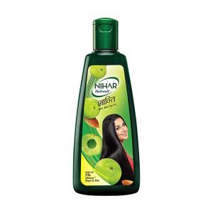 Nihar Shanti Amla and Badam Hair Oil, For Black, Silky and Stronger Hair,500 ml