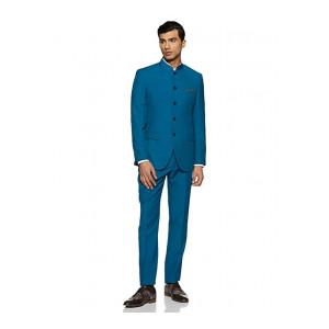 Park Avenue Men's Linen Notch Lapel Suit