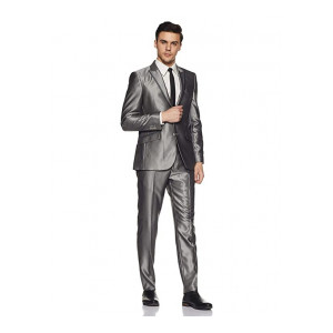 Raymond Men's Synthetic Suit Trousers