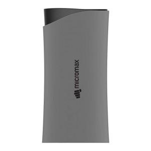 Micromax MXAPB0520 5200mAH Power Bank (Grey-Black)