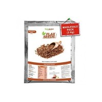 NutroActive FLAX SEEDS Raw Whole (Alsi) Wholesale Pack - 3 Kg