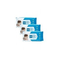 Loot  Mee Mee Caring Baby Wet Wipes with Lemon Fragrance - 72 pcs (Pack of 3)