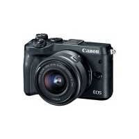Canon EOS M6 24.2 MP DSLR (Black)