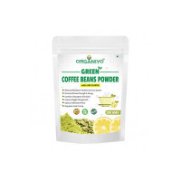 Organivo Natural Green Coffee Beans Powder with Lime Flavour for Faster Fat Burn, Powerful Antioxidant