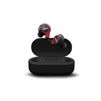 Flybot Active True Wireless Bluetooth 5.0 Earphones with mic and Charging case | IPX7 Waterproof Sports Headset – Black