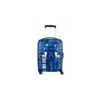 American Tourister Play4blue Polycarbonate 69 cms Blue Hardsided Check-in Luggage (FR4 (0) 01 002)