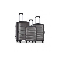 Safari Nexus 3 Pcs Hard Trolley Set 55, 65