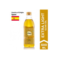 Oleev Extra Light Olive Oil, Saueting and Roasting PET Bottle, 500 ml