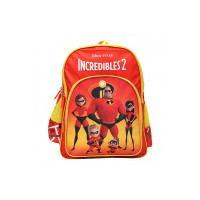 Incredibles 14 Ltrs Red School Backpack (MBE-WDP1376)