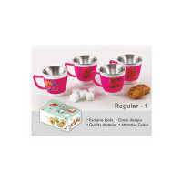 Dhavesai Inner Stainless Steel Cup 60ml (1)