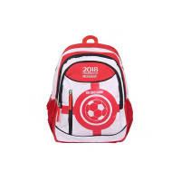 FIFA 40 Ltrs White::Red School Backpack (MBE-FF005)