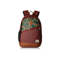 Gear 30 Ltrs Maroon and Brown Casual Backpack (BKPFOREST2302)
