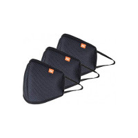 Wildcraft HypaShield reusable outdoor protection mask W95 (Pack of 3), Size L (Adults 70  Kgs)