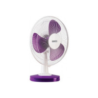Usha MIST AIR DUOS 400 mm 3 Blade Table Fan  (PURPLE, Pack of 1)