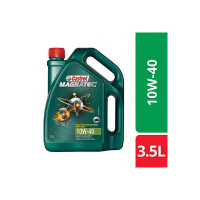 Castrol MAGNATEC 10W-40 API SN Part-Synthetic Engine Oil for Petrol Cars (3.5 L)