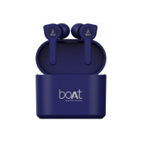 boAt Airdopes 402 Bluetooth Headset  (Bold Blue, True Wireless)