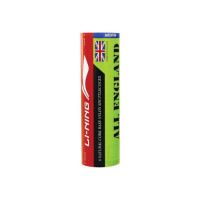Li-Ning All England Nylon Shuttle - Yellow(Medium, 77, Pack of 6)
