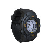 Lenovo Ego Smartwatch  (Black Strap, Regular)