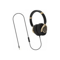 Pre Book Deal : Nu Republic Starboy W Wired Headset(Gold, Black, Wired over the head)