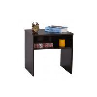 DeckUp Lexis Side Table/End Table (Dark Wenge, Set of 2)