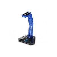SADES E-Sports Gaming Headphone Cradle Acrylic Headphone Bracket Stand Head-Mounted Display Rack Headset Hanger Holder for Gamers Blue Blue