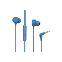 boAt Bassheads 103 Blue Wired Headset(Blue, In the Ear)