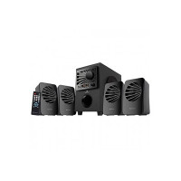 (Renewed) Zebronics Zeb-Sunshine 4.1 Multimedia Speaker with Bluetooth Supporting,USB,mSD,AUX,FM and Remote Control-(Black)