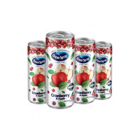 Ocean Spray Cranberry & Apple Juice with 20% Cranberry 240 ml ( Pack of 4 )