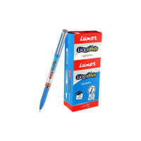 Luxor Liquiwrite Ball Pen Blue (20's Box)
