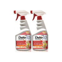 Dabur Sanitize Multipurpose Surface Cleaner & Disinfectant - 450 ml(Pack of 2)  (900 ml)
