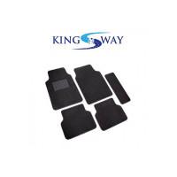 Kingsway Black Carpet Mats for Skoda Yeti (Set of 5)