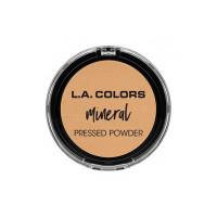 L.A Colors Mineral Pressed Powder, Soft Honey, 7.5g