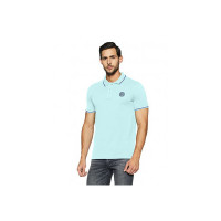 Hanes Men's Solid Regular Fit Polo