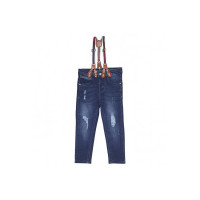 Tales & Stories Boys Blue Solid Slim Fit Jeans [T201710-3-4-B]